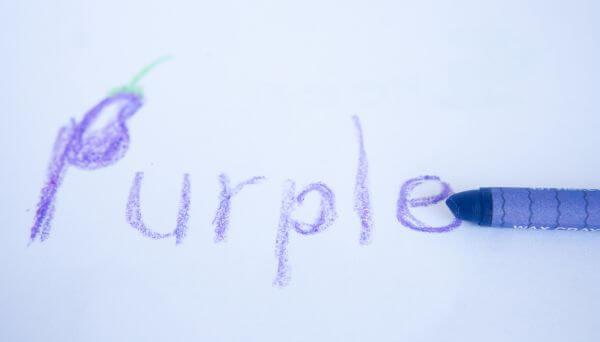Purple Crayon photo