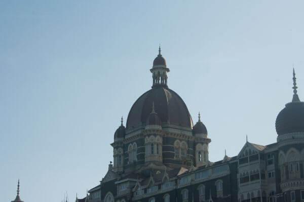 Taj Hotel Mumbai Closeup photo