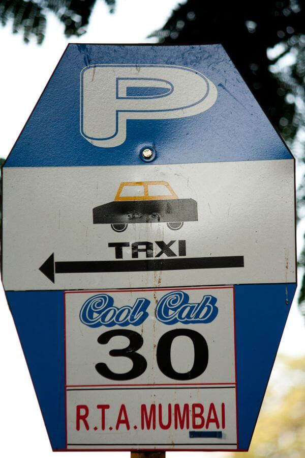 Taxi Stand Sign photo