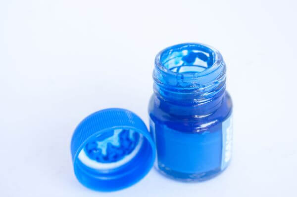 Water Colors Blue photo