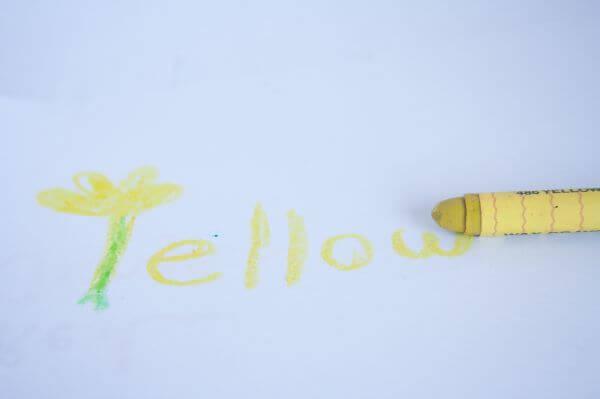 Yellow Crayon photo