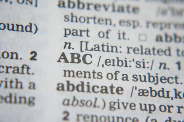 Abc Dictionary photo
