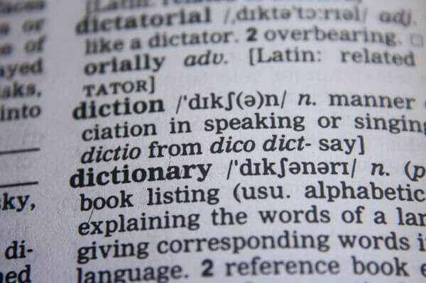 Dictionary Word photo