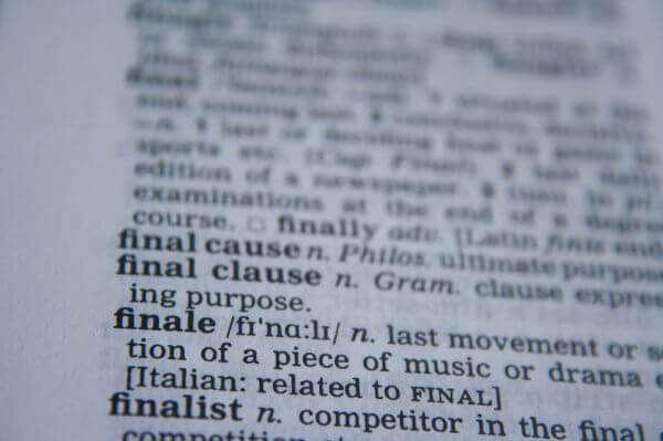 Finale Word photo
