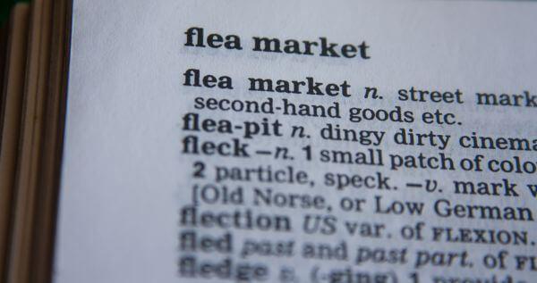 Flea Market Dictionary photo