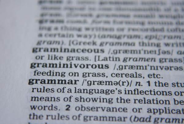 Grammar photo