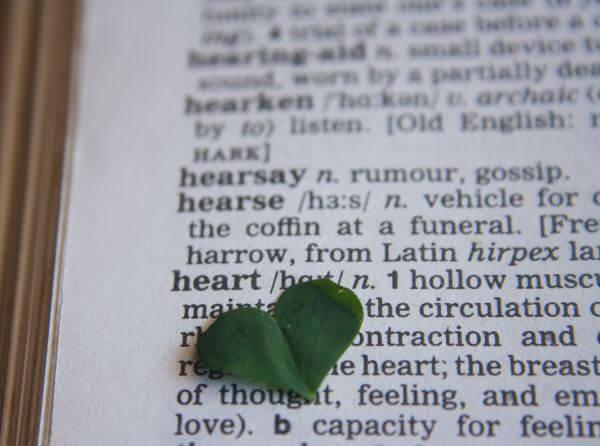 Heart Word Dictionary photo