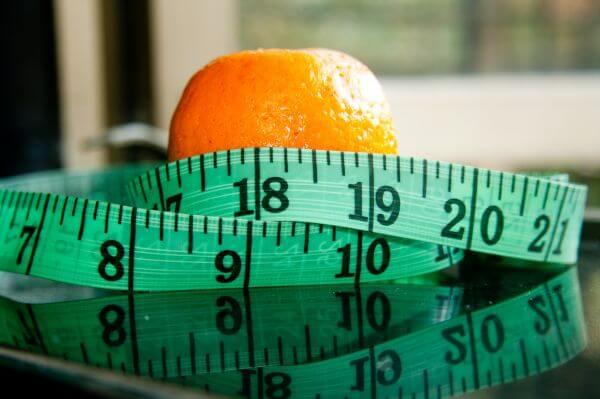 Measure Tape Orange Diet photo