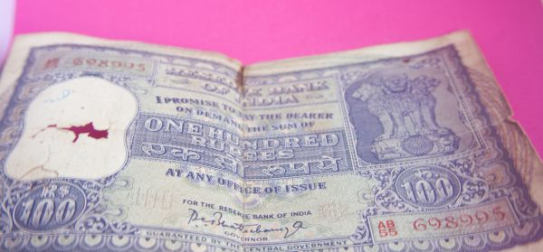 Old Currency India photo