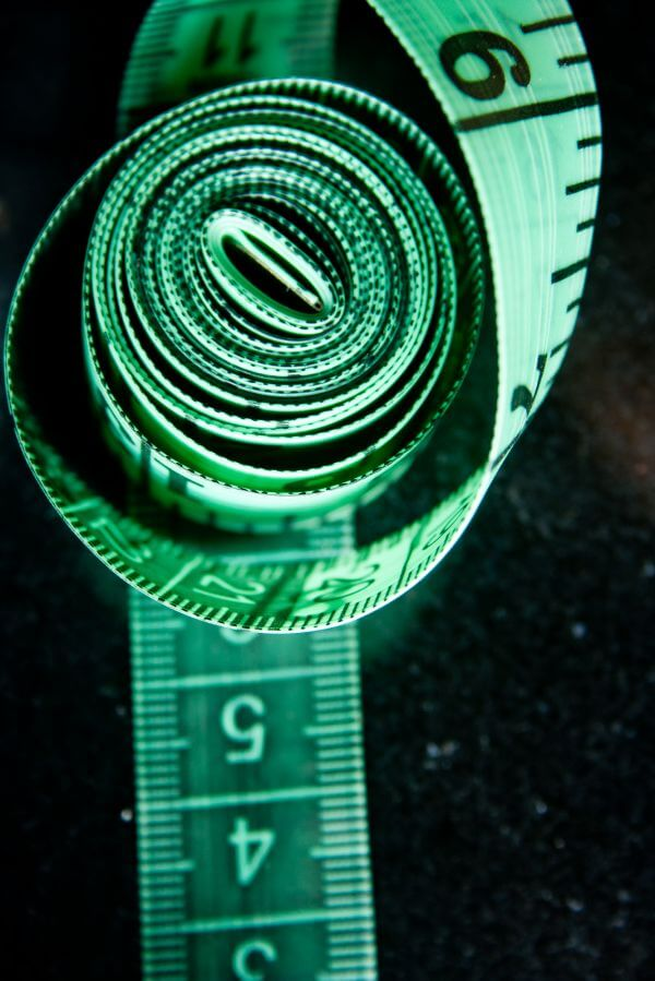 Rolled Measure Tape photo