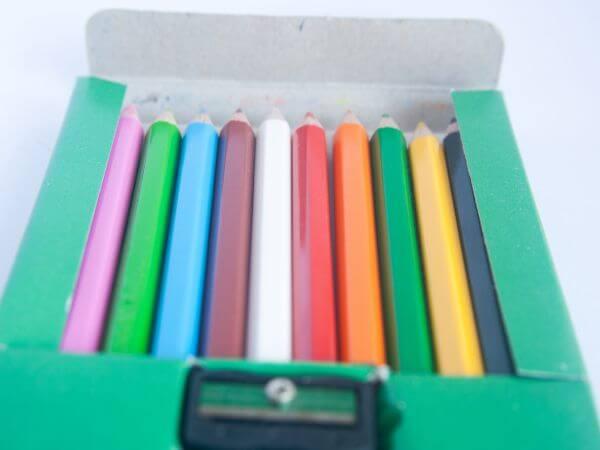 Color Pencils Box photo