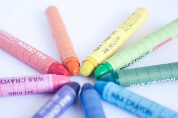 Coloring Crayons photo