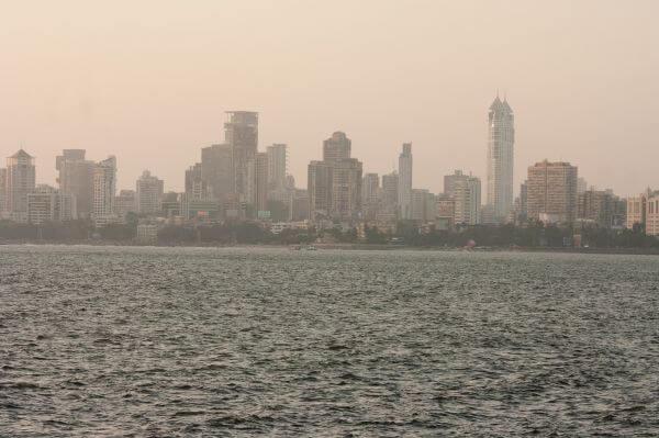 Mumbai City Skyline photo