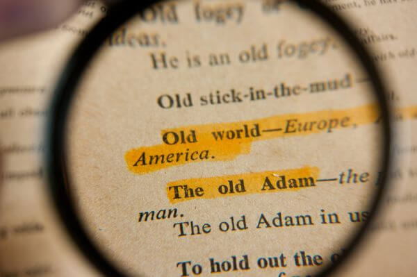 Phrases Magnified photo