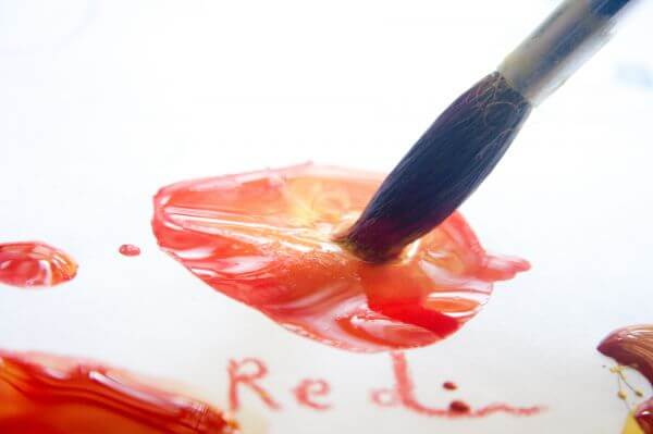 Red Paint photo