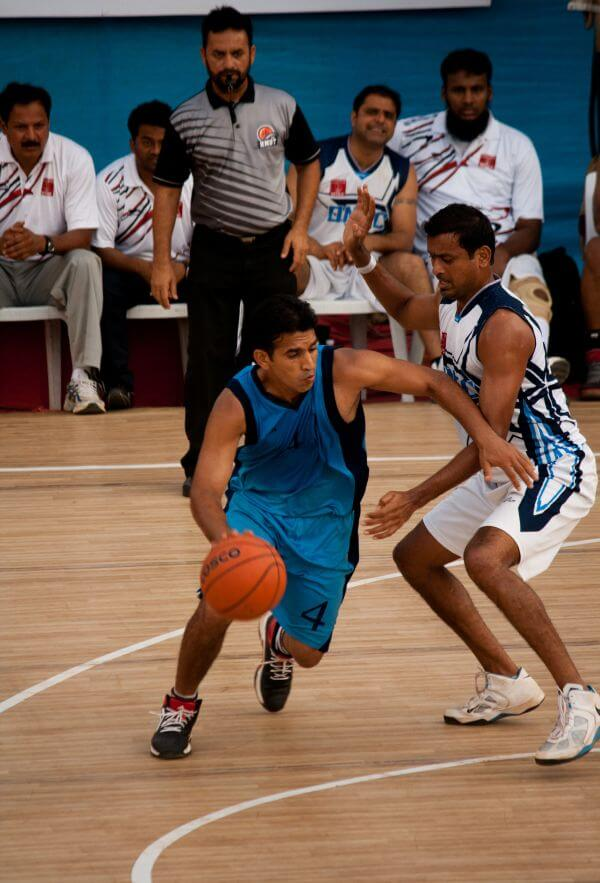 Basketball Action photo