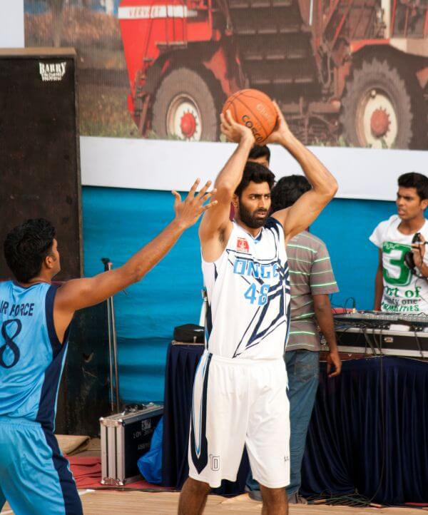 Basketball Game In India Sport photo