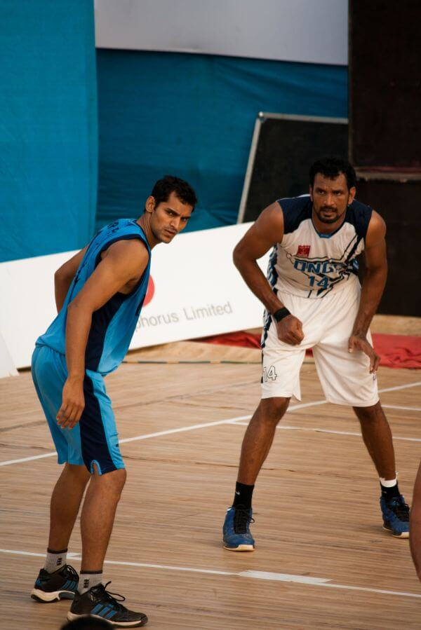 Basketball Players Game photo