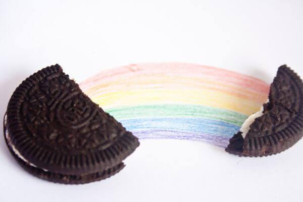 Chocolate Biscuit Rainbow photo