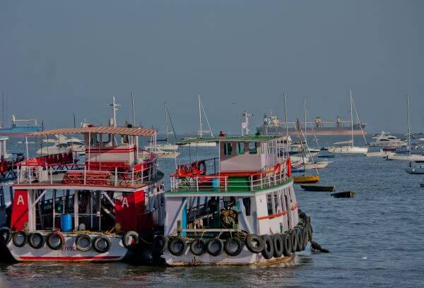 Boats On Yard Mumbai photo