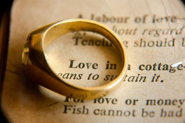 Love Word Ring photo