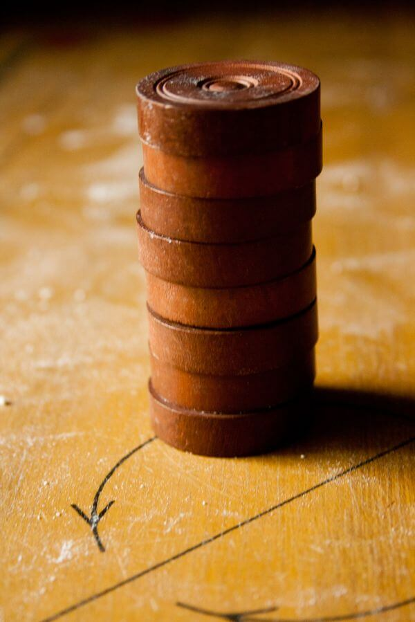 Carrom Coins Stack photo
