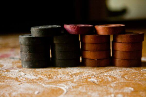 Stack Of Coins Carrom photo