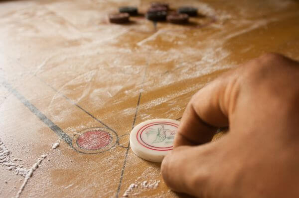 Traditional Carrom Game photo