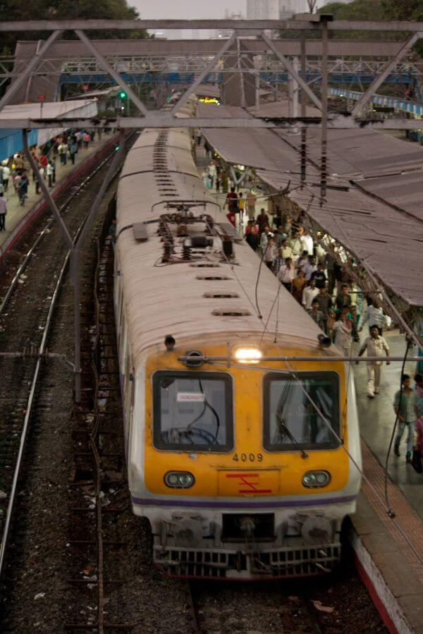 Local Train Mumbai photo