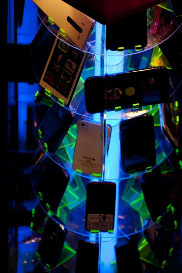Mobile Phones On Display photo