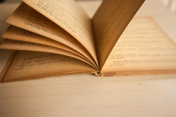 Old Book Pages photo