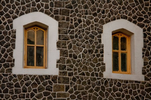 Stone Texture Window photo