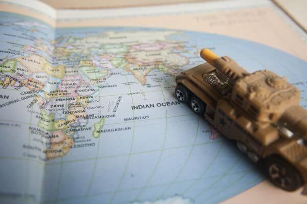 World Map War Tank photo