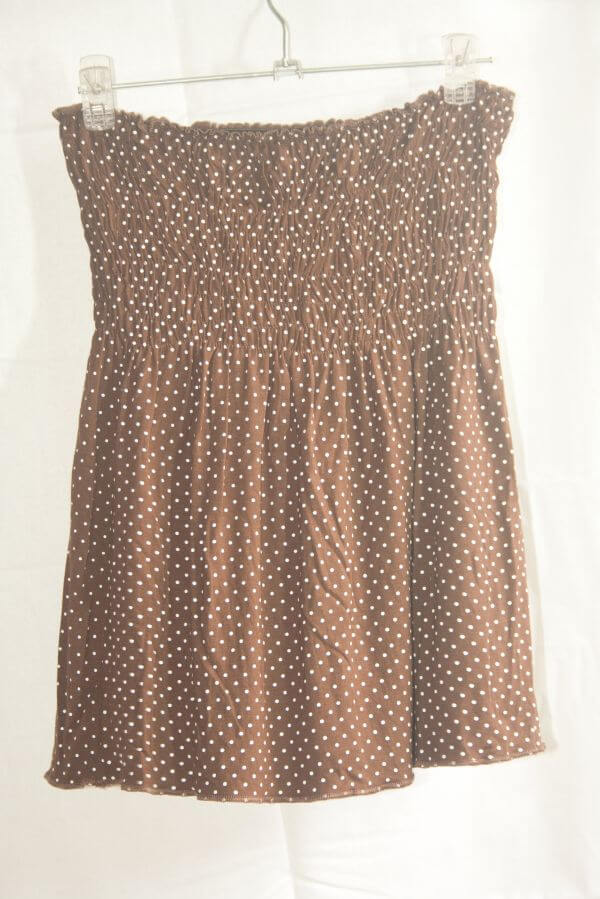 Brownish Girls Dress photo