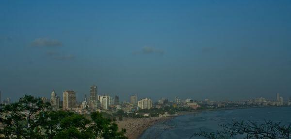 Mumbai Panoramic View photo