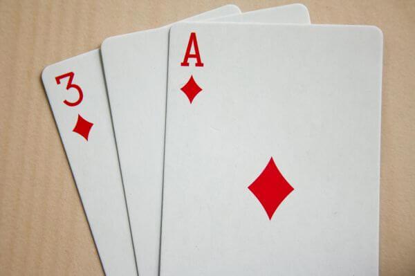 Ace And Three Of Diamond photo