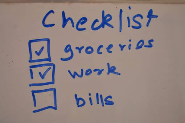 Checklist To Do List photo