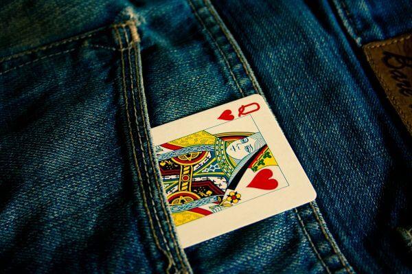 Queen Card In Pocket photo