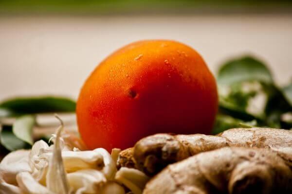Tomato Closeup photo