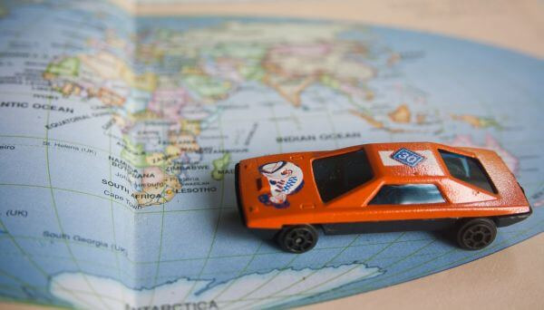 Toy Car World Map photo