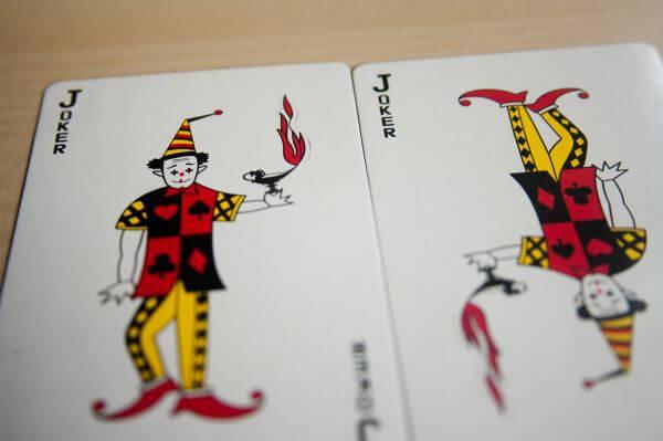 Two Joker Cards photo