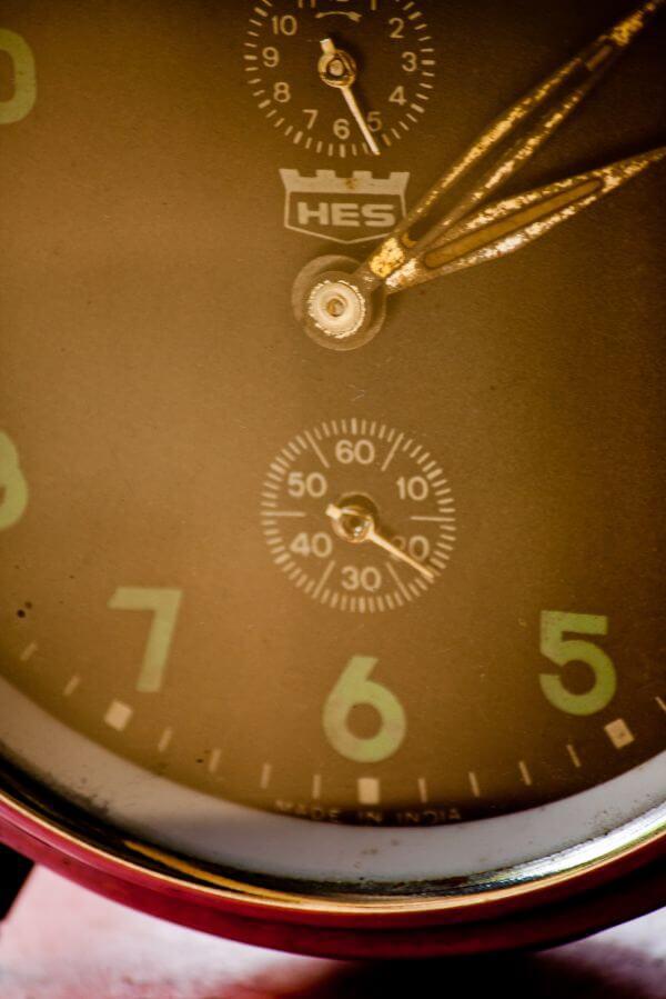 Alarm Clock Closeup photo