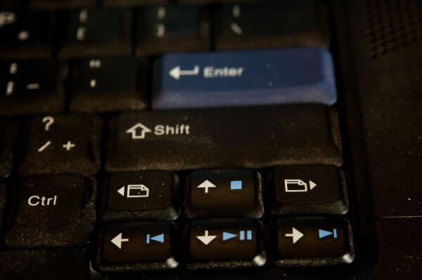 Arrow Keys Keyboard photo