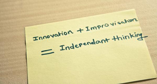 Independant Thinking Note photo