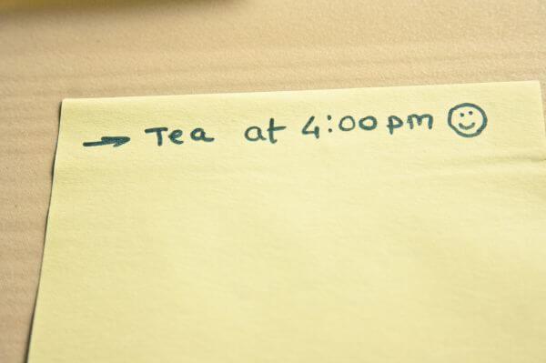 Tea Time Note photo