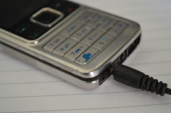 Old Mobile Phone Charging photo
