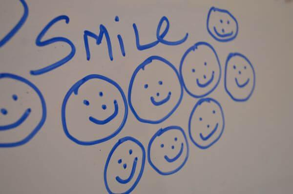 Smile White Board photo