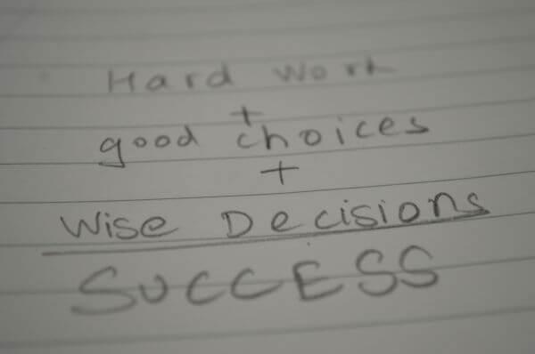 Success Formula Writing photo