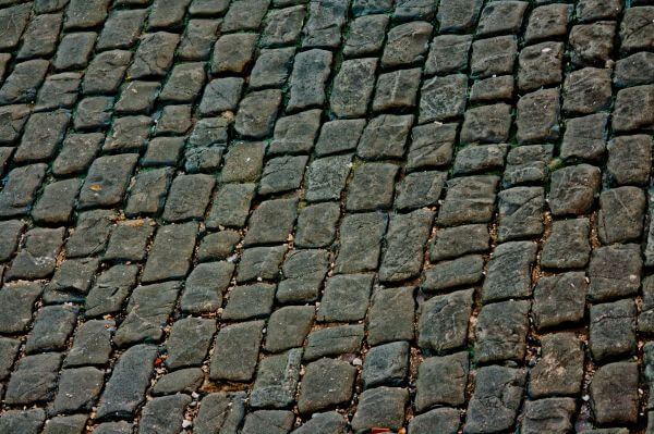 Brick Road Closeup photo