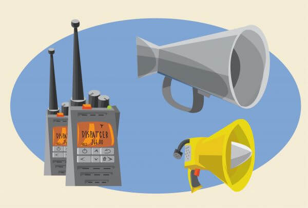 Communication objects for design. Vector illustrations vector